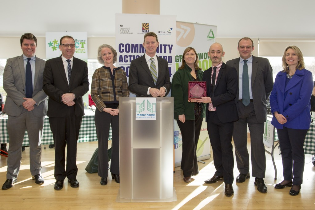 Manor House PACT receives the Community Action Award