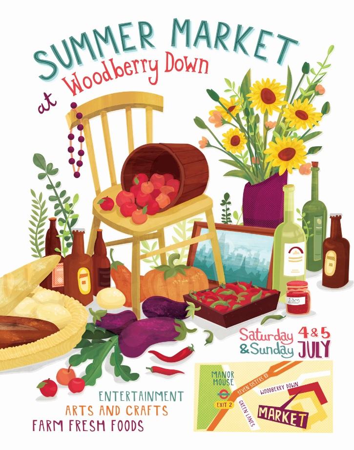 Woodberry Down Summer Market