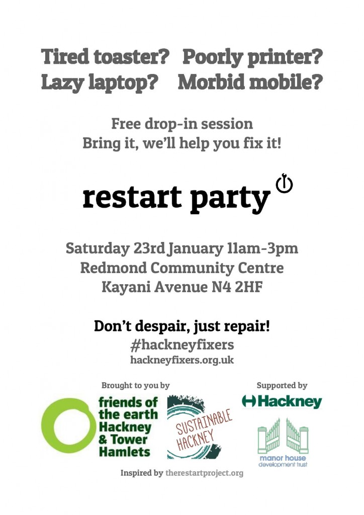 HackneyFixers.RestartParty.Jan16