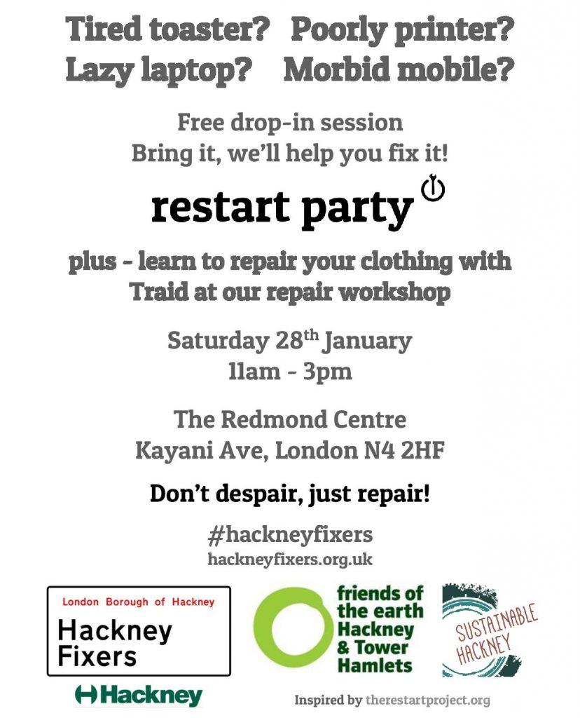 HackneyFixers.RestartPartyPlus.Jan17